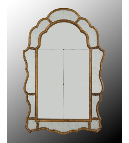 John Richard Diverse Profiles/Shapes Mirror in Gilded Gold JRM-0379 photo