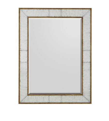 Rectangular 48 x 36 inch gilded gold mirror home decor for Mirror 48 x 36