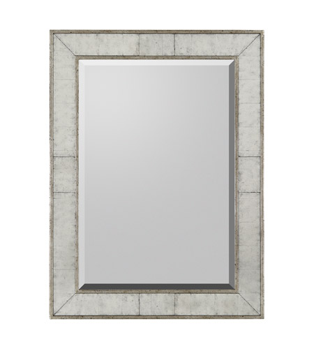 John Richard JRM-0394 Rectangular 48 X 36 inch Gilded Silver Mirror Home Decor photo