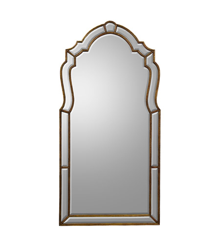 John Richard Diverse Profiles/Shapes Mirror in Gilded Gold JRM-0401 photo
