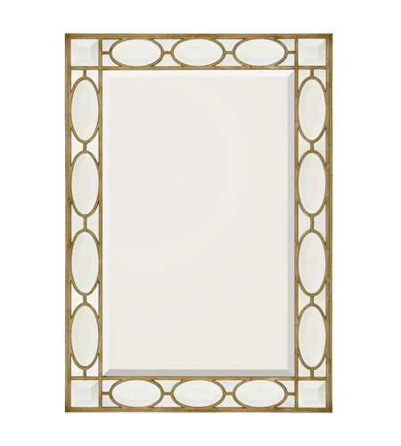 John Richard JRM-0422 Rectangular 62 X 43 inch Gilded Silver Mirror Home Decor photo