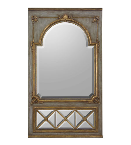 John Richard JRM-0578 Diverse Profiles/Shapes 80 X 45 inch Hand-Painted Mirror Home Decor photo