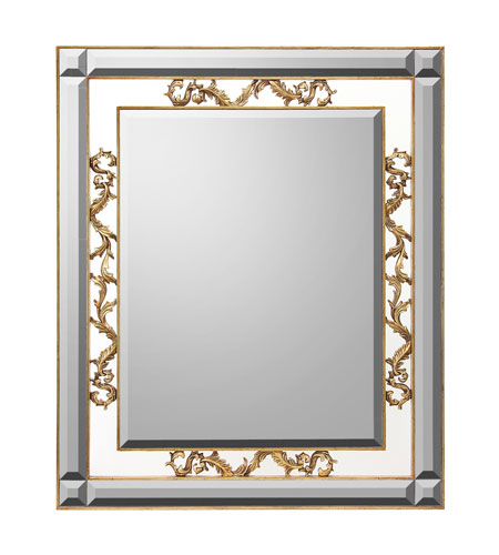 John Richard Rectangular Mirror in Gilded Gold JRM-0582 photo