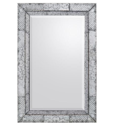 John richard jrm 0756 maestro 60 x 40 inch gilded silver for Mirror 40 x 60