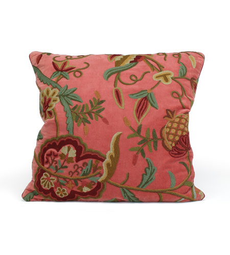John Richard Pillow Decorative Accessory in Floral JRS-03-3087 photo