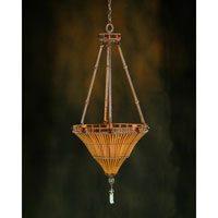 John Richard Rue Royale 3 Light Pendant in Hand-Painted AJC-8008