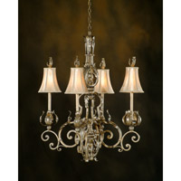 John Richard Ashburn 4 Light Chandelier in Hand-Painted AJC-8036