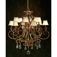 John Richard Alexander John Maison D Or 12 Light Chandelier in Hand-Painted  AJC-8066