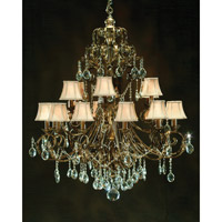 John Richard Sonata 18 Light Chandelier in Hand-Painted AJC-8077