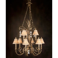 John Richard Alexander John Chandelier in Hand-Painted AJC-8093