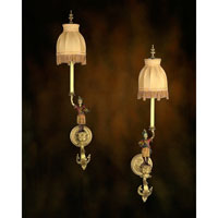 John Richard Rue Royale 1 Light Wall Sconce in Plated AJC-8221