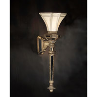 Palace of Versailles 1 Light 11 inch Gold and Glazed Mirror Wall Sconce Wall Light