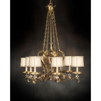 John Richard Isabella 8 Light Chandelier in Plated AJC-8312