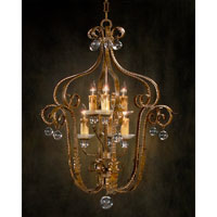 John Richard Sierra Del Sol 6 Light Pendant in Hand-Painted AJC-8332