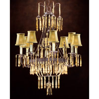 Ceylon 8 Light 28 inch Hand-Painted Chandelier Ceiling Light
