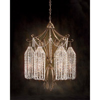 John Richard Le Marsais 6 Light Chandelier in Hand-Painted AJC-8353