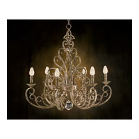 John Richard Alexander John 6 Light Chandelier in Hand-Painted AJC-8360