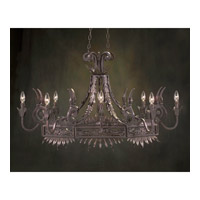 John Richard Provenza 8 Light Chandelier in Hand-Painted AJC-8365