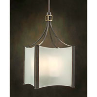 John Richard Alexander John 4 Light Pendant in Hand-Painted AJC-8369