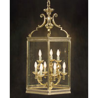 John Richard Alexander John Montaigne 9 Light Lantern Chandelier in Plated  AJC-8379