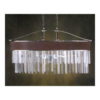John Richard Paris Coutoure 6 Light Chandelier in Plated AJC-8397