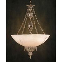 John Richard Alexander John Sabina 5 Light Pendant in Hand-Painted  AJC-8409