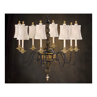 John Richard Martinique 8 Light Chandelier in Hand-Painted AJC-8426