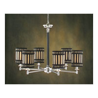 John Richard Alexander John 6 Light Chandelier in Plated  AJC-8449