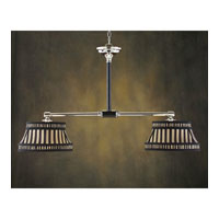 John Richard Alexander John 2 Light Pendant in Plated AJC-8450