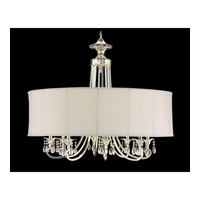 John Richard Lombard 8 Light Chandelier in Plated AJC-8455