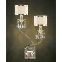 John Richard Lombard 2 Light Wall Sconce in Plated AJC-8461