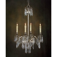 Alexander John 4 Light 18 inch Plated Chandelier Ceiling Light