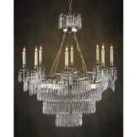 Alexander John 8 Light 25 inch Plated Chandelier Ceiling Light