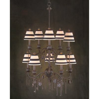 John Richard Alexander John 10 Light Chandelier in Hand-Painted AJC-8535
