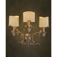 John Richard Alexander John 3 Light Wall Sconce in Plated AJC-8542