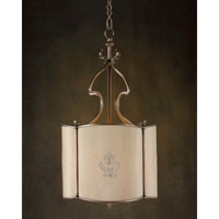 John Richard Alexander John 3 Light Pendant in Plated AJC-8543