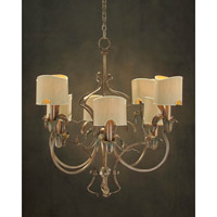 Day Lily 8 Light 26 inch Plated Chandelier Ceiling Light
