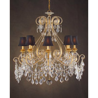 John Richard Extravagance 8 Light Chandelier in Hand-Painted AJC-8546