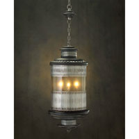 Alexander John 3 Light 15 inch Hand-Painted Pendant Ceiling Light