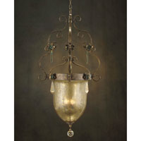 John Richard Alexander John 3 Light Pendant in Hand-Painted  AJC-8573