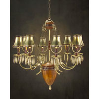 John Richard Alexander John 8 Light Chandelier in Plated AJC-8576