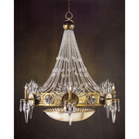 John Richard Celestial 10 Light Chandelier in Plated AJC-8591