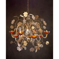 John Richard Tree Of Life 8 Light Chandelier in Hand-Painted AJC-8595