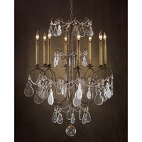 John Richard Egan 8 Light Chandelier in Hand-Painted AJC-8616