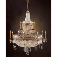 John Richard Casino Royal 22 Light Chandelier in Hand-Painted AJC-8619