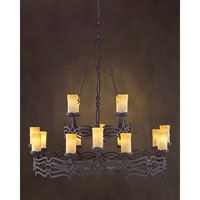 John Richard Livorno 16 Light Chandelier in Hand-Painted AJC-8620