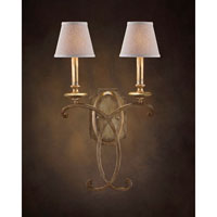 John Richard Middleton 2 Light Wall Sconce in Hand-Painted AJC-8663