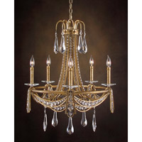 John Richard Farmington 5 Light Chandelier in Hand-Painted AJC-8674