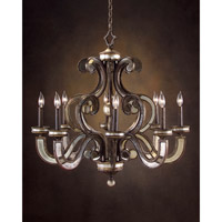 John Richard Northfields 8 Light Chandelier in Hand-Painted AJC-8677