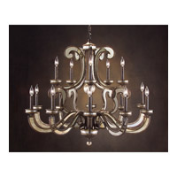 John Richard Alexander John 15 Light Chandelier in Hand-Painted AJC-8678